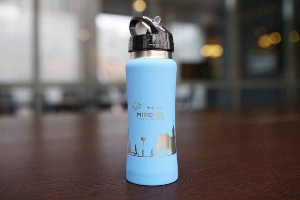 "Thermo bottle ""Mirotel"""