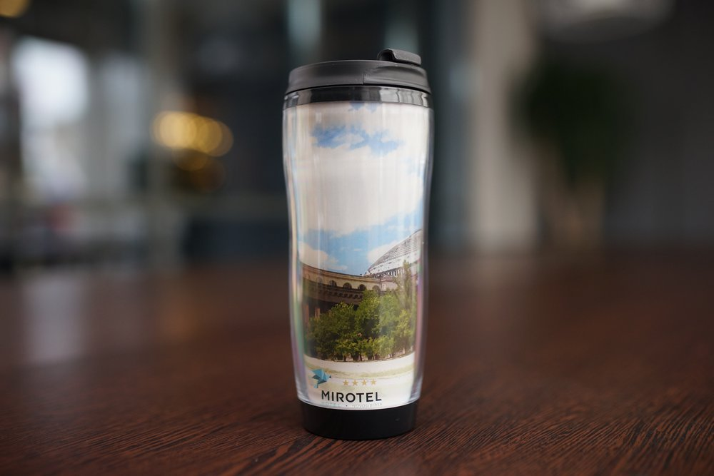 Thermo mug with picture